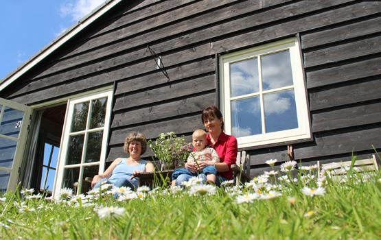 Polderhuisje_vakantiehuisje-op-Groene-Camping-In-de-Polder-in-de-voortuinvandebiesbosch