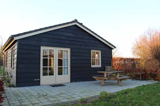Polderhuisje 2 terras Groene camping In de Polder Biesbosch (3)