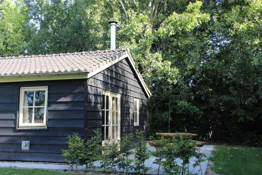 Polderhuisje Groene camping Biesbosch