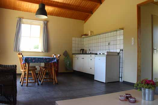 Polderhuisje Groene camping In de Polder Biesbosch Lage Zwaluwe